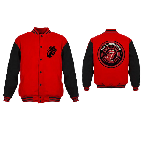 Rolling Stones Red Tongue Logo Jacket