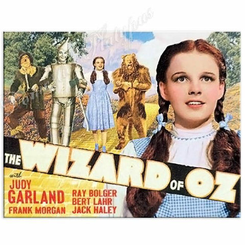 WIZARD OF OZ Movie Poster Tin Sign