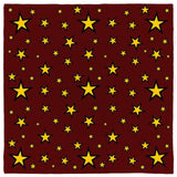 Retro Wizard Star Pattern Bandanas