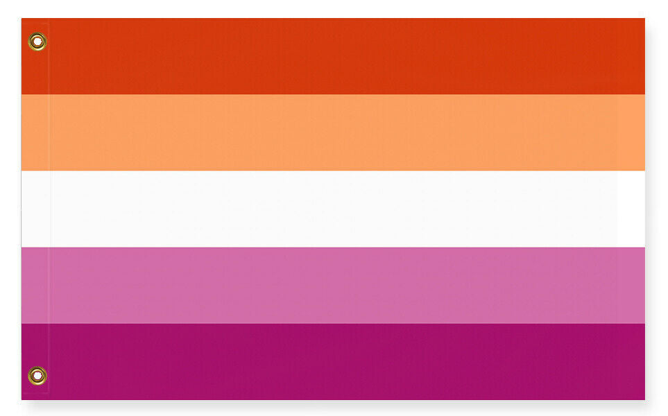 Lesbian Pride Flag, Updated Inclusive Version