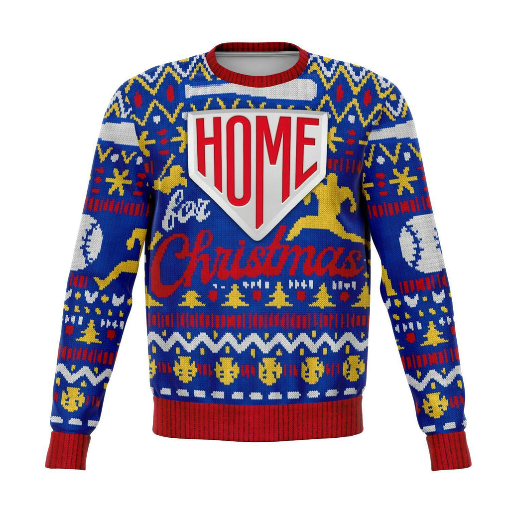 Home Base For Christmas Baseball Sweatshirt