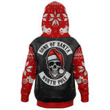 Sons of Santa Biker Hoodie, Kids Sizes