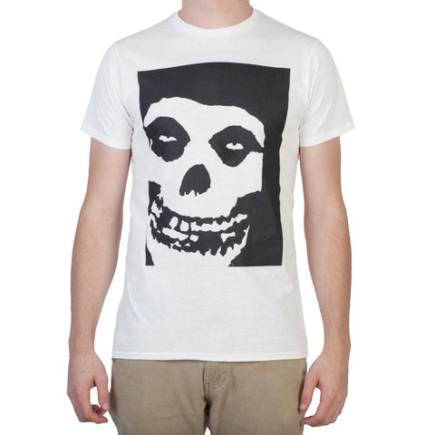 Misfits Skull Logo Men's White T-Shirt