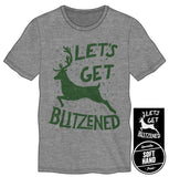 Blitzened Men's Gray T Shirt
