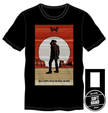 Westworld Hell is Empty Tee - Domestic Platypus