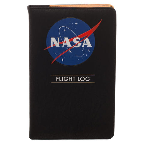 NASA Flight Log Travel Journal Wallet