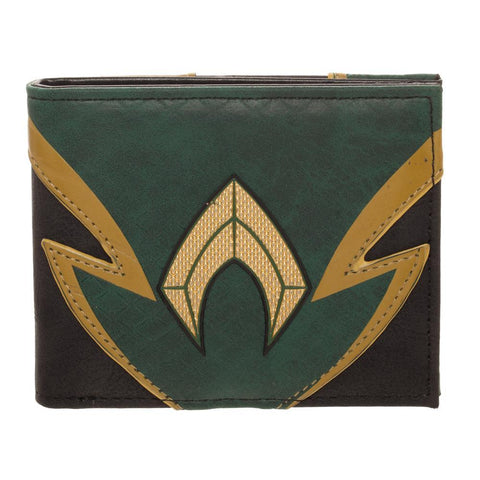 Aquaman Uniform and Logo Wallet