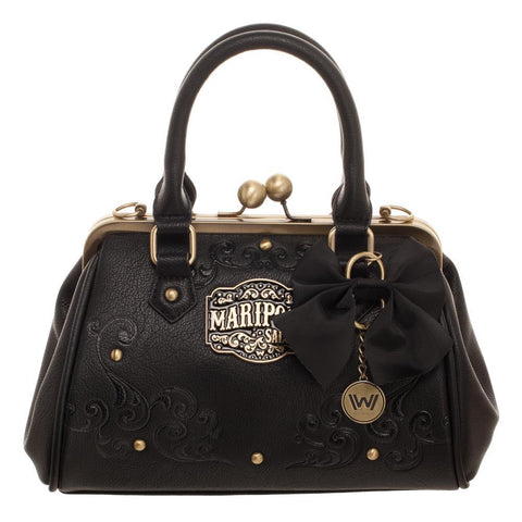 Westworld Mariposa Saloon Kiss Lock Handbag - Domestic Platypus