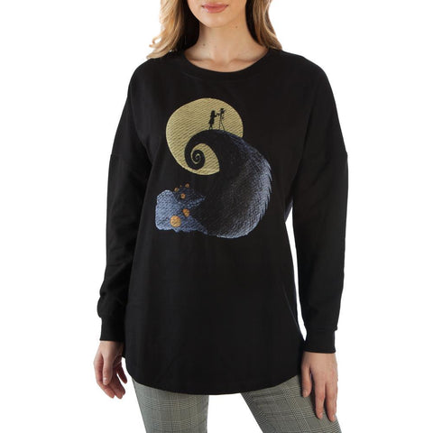Nightmare Before Christmas Embroidered Shirt