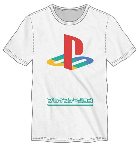 Playstation PS1 Japanese Logo Tee