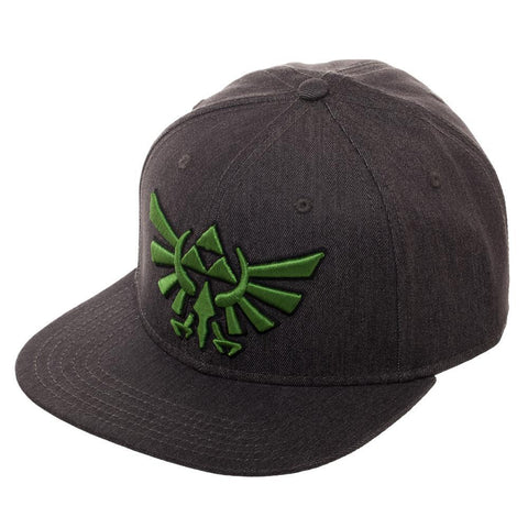 Legend of Zelda Wingcrest Fitted Flatbill Flex Cap