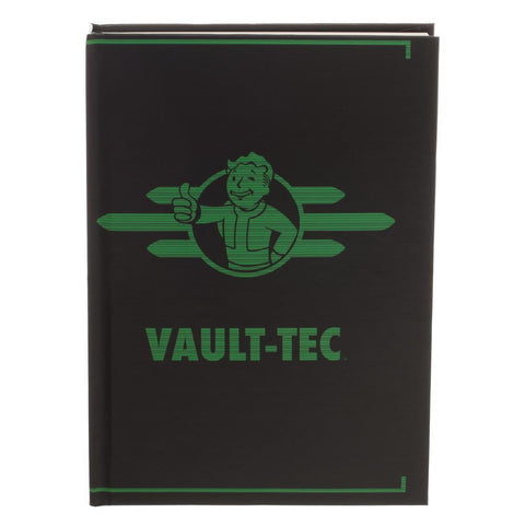 Fallout Black and Green Vault-Tec Journal