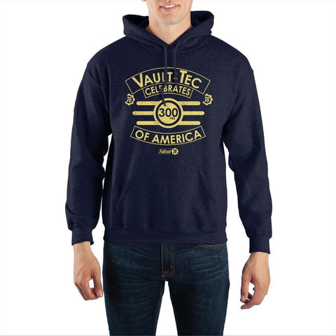 Fallout 76 Vault-Tec ?Celebrates 300 Years of America? Hooded Sweatshirt