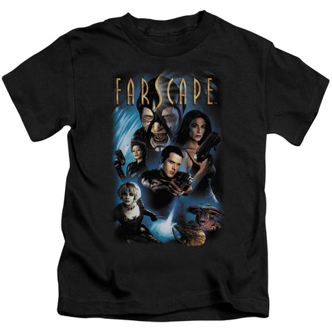FARSCAPE Comic Book Cover Kids Tee