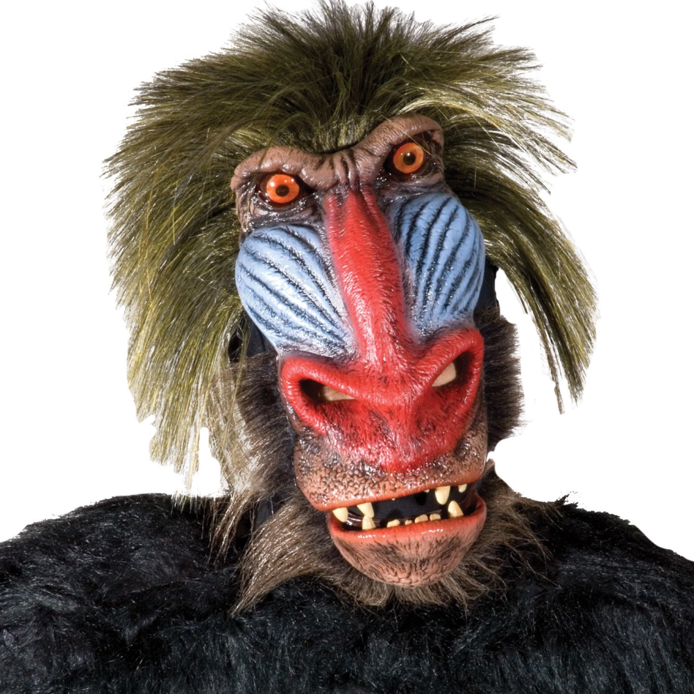 Theatre Quality Baboon Mask