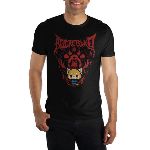 Domestic Platypus-Aggretsuko Rage Graphic Tee, Officially Licensed Sanrio Anime Shirt-Shirt-[meta description]