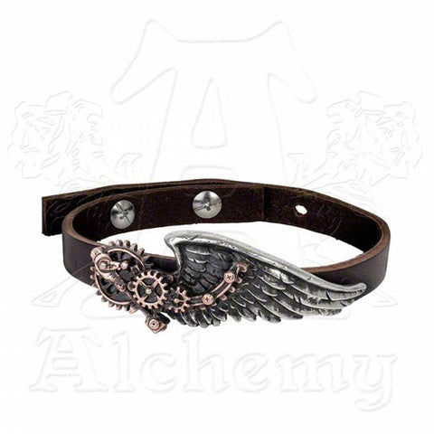 Alchemy Empire BLACK BARON TECHNICIAN'S WINGSTRAP Bracelet