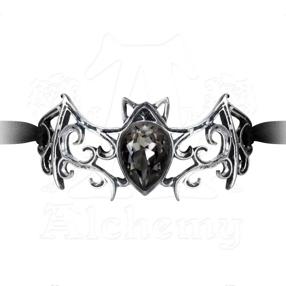 Alchemy Gothic VIENNESE NIGHTS Ribbon Bracelet - Domestic Platypus