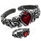 Alchemy Gothic BETROTHAL Bracelet & Ring Set - Domestic Platypus