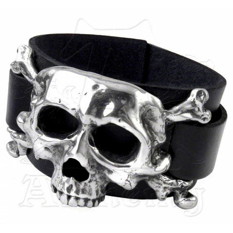 Alchemy Metal-Wear I DIETH Skull Bracelet - Domestic Platypus