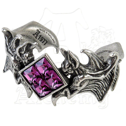 Alchemy Gothic BIRD OF DEATH Cuff Bracelet