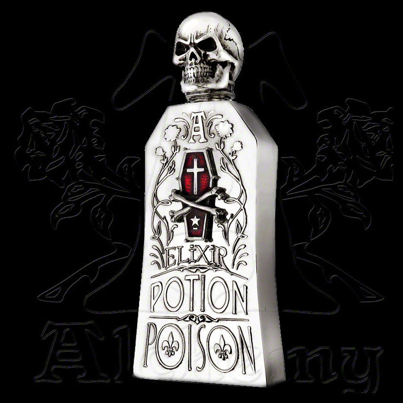 Alchemy Gothic POTION / POISON ELIXIR BOTTLE Flask - Domestic Platypus