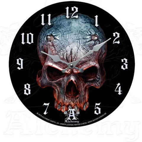 Alchemy Gothic BIRTH OF A DEMON Wall Clock - Domestic Platypus