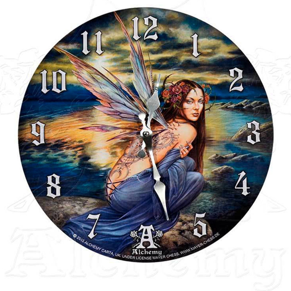 Alchemy Gothic SYLUNDINE Wall Clock - Domestic Platypus