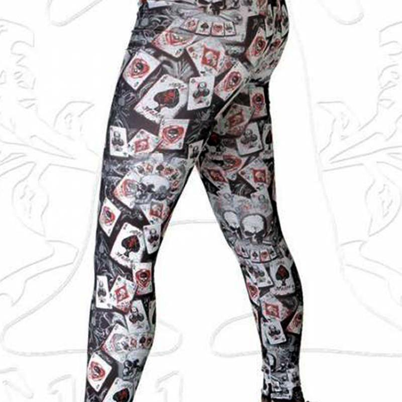 "Alchemy ""Aces High"" Leggings - Domestic Platypus"