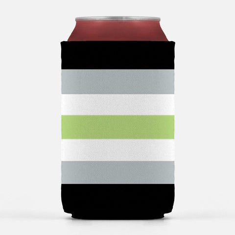 Agender Pride Can Cooler