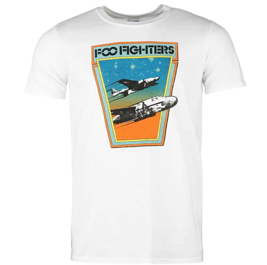 Domestic Platypus-FOO FIGHTERS Classic Jets Band Tee - Screen Printed UK Import Shirt-Shirt-[meta description]