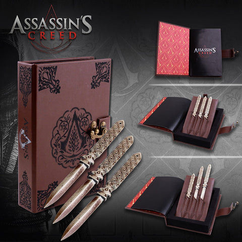 Assassins Creed - Aguilar Throwing Knives - Domestic Platypus
