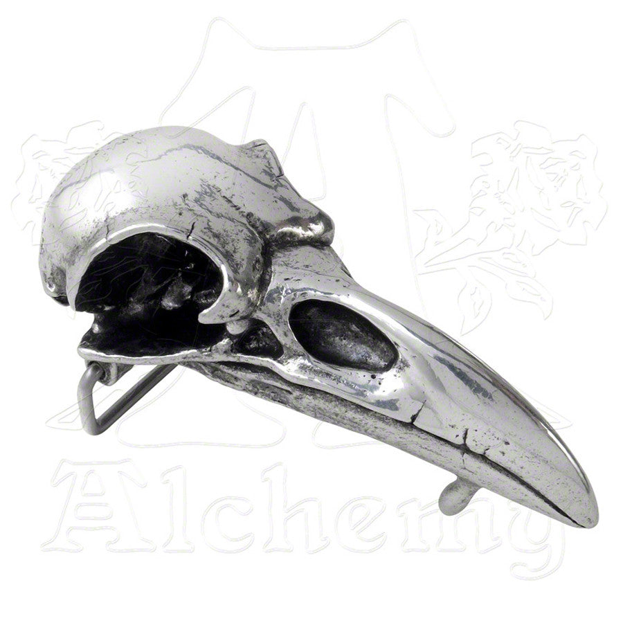 Alchemy RABESCHADEL Raven Skull Belt Buckle - Domestic Platypus