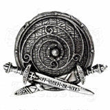 Alchemy Gothic WAR BAND Belt Buckle