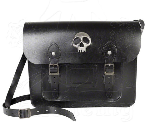 "Alchemy Gothic ALICE ""Skulls Out"" Satchel Bag - Domestic Platypus"