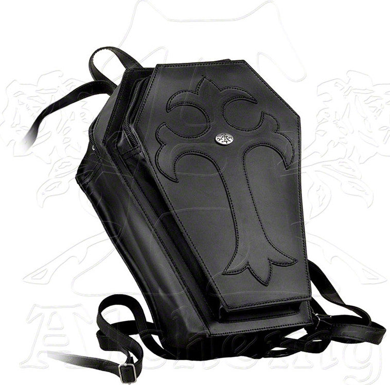 Alchemy Gothic Coffin Backpack