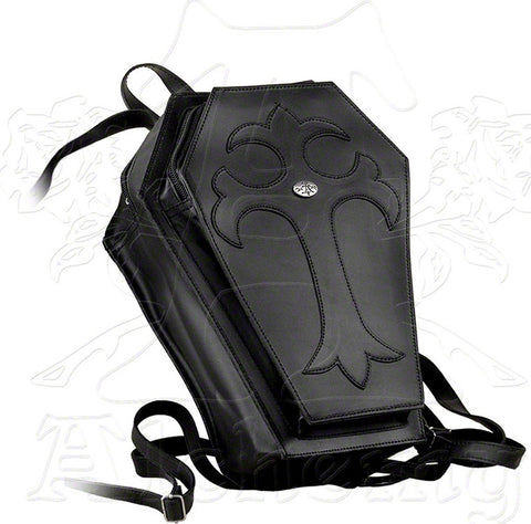 Alchemy Gothic Coffin Backpack - Domestic Platypus