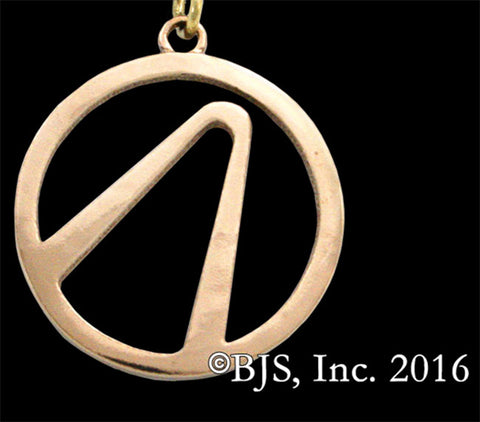BORDERLANDS Bronze Vault Symbol Keychain - Domestic Platypus
