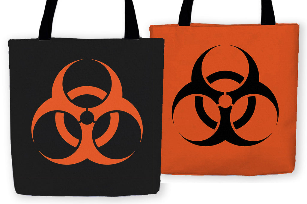 Biohazard Carryall Tote - Domestic Platypus