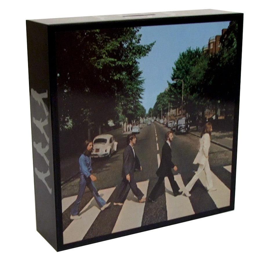 Beatles: ABBEY ROAD Album Cover Coin Bank - Domestic Platypus