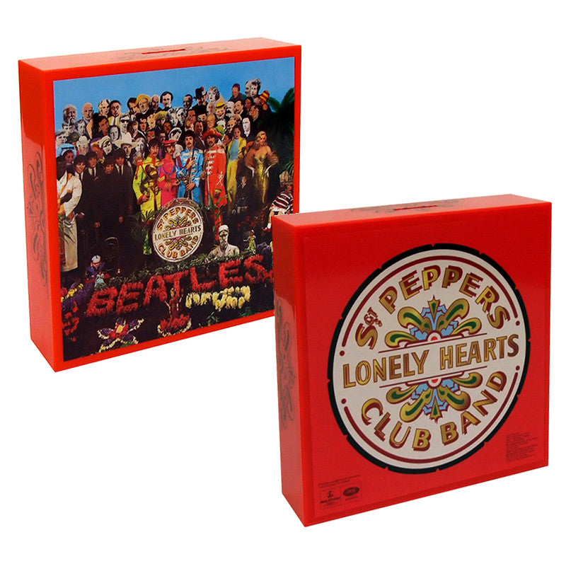 Beatles: SGT PEPPER Album Cover Coin Bank
