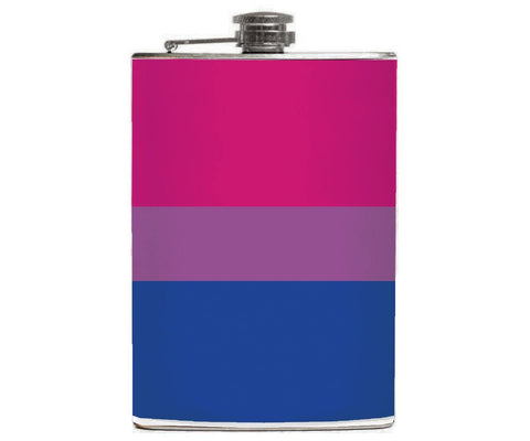 Bisexual Pride Flask