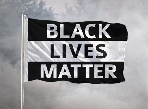 Domestic Platypus-Black Lives Matter Flags - 2x1 3x2 5x3 High Quality BLM Protest Banner-Flag-[meta description]