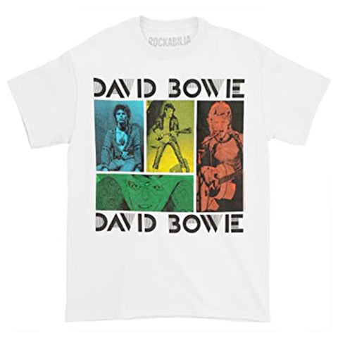 David Bowie Colour Block Graphic Tee