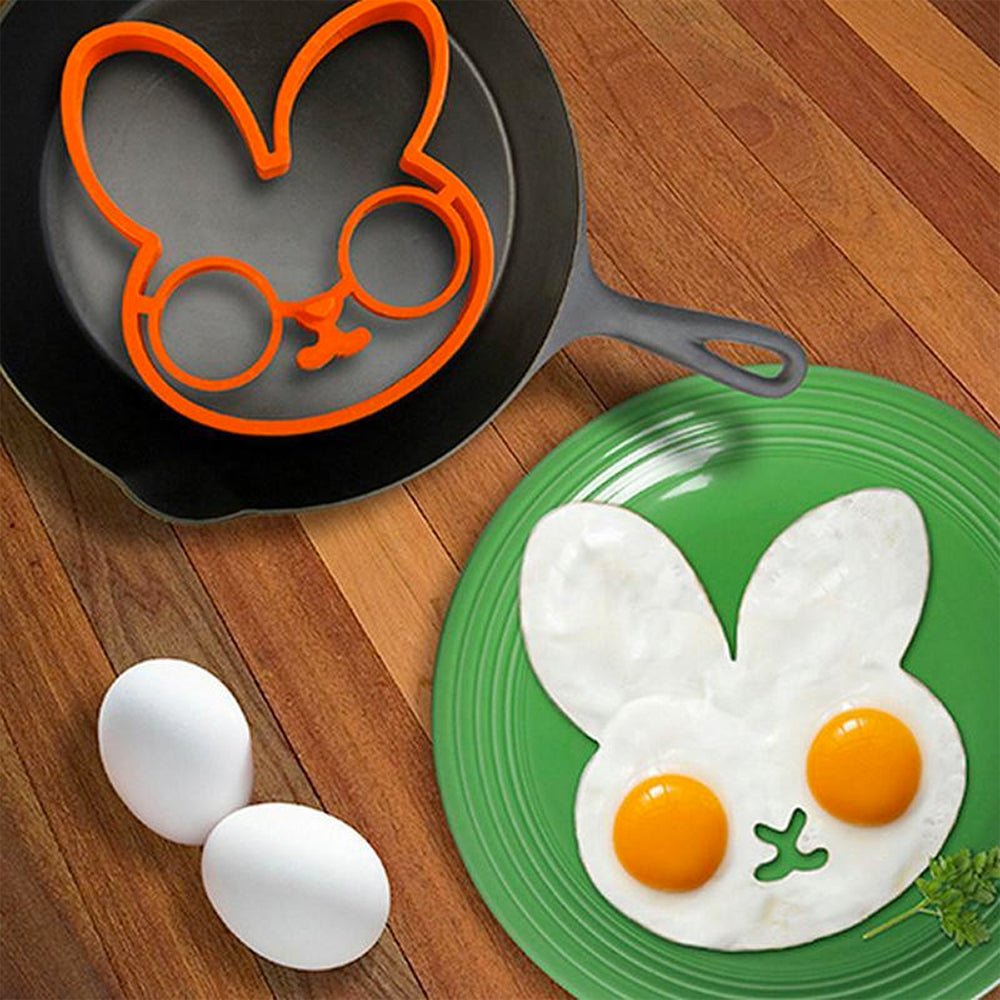 Bunny Face Silicone Cooking Form