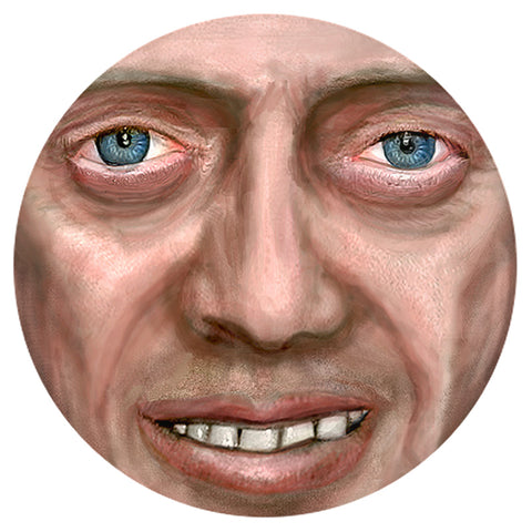 Bedroom Eyes Buscemi Pinback Buttons