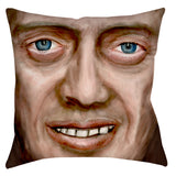 Buscemi Throw Pillow - Domestic Platypus