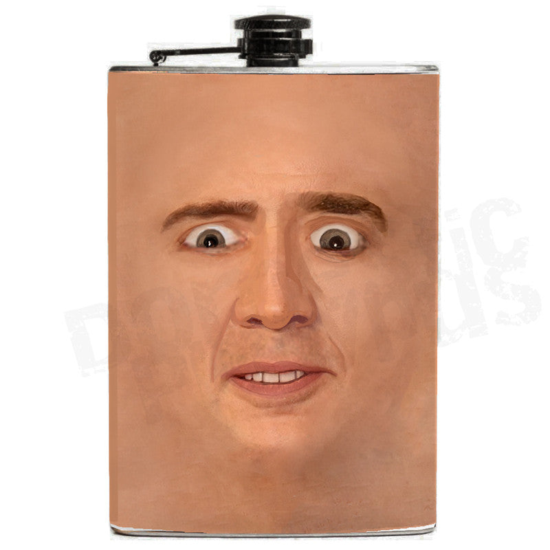 Creepy Cage Face Flask - Domestic Platypus
