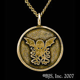 CTHULHU Round Pendant Necklace - Domestic Platypus