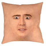 Creepy Cage Face Pillow - Domestic Platypus